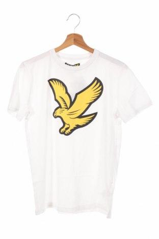 Детска тениска Lyle & Scott, Размер 14-15y/ 168-170 см, Цвят Бял, Памук, Цена 28,47лв.