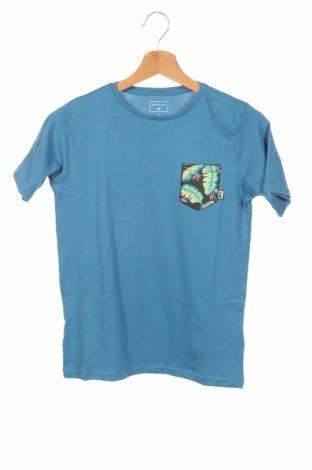 Детска тениска Quiksilver, Размер 11-12y/ 152-158 см, Цвят Син, Памук, Цена 28,47лв.
