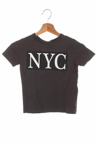 Детска тениска Zara Kids, Размер 4-5y/ 110-116 см, Цвят Сив, Памук, Цена 13,87лв.