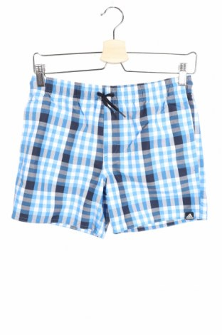 Costum de baie pentru copii Adidas, Mărime 11-12y/ 152-158 cm, Culoare Albastru, Poliamidă, Preț 77,68 Lei