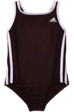 Costum de baie pentru copii Adidas, Mărime 4-5y/ 110-116 cm, Culoare Negru, 73% poliamidă, 27% elastan, Preț 92,84 Lei