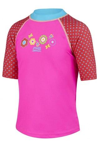 Детска блуза Zoggs, Размер 18-24m/ 86-98 см, Цвят Розов, 80% полиамид, 20% еластан, Цена 30,24лв.