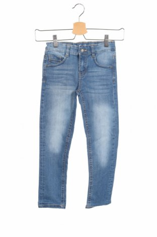 Dziecięce jeansy Esprit, Rozmiar 5-6y/ 116-122 cm, Kolor Niebieski, 80% bawełna, 19% poliester, 1% elastyna, Cena 114,70zł