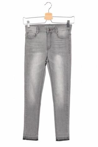 Dziecięce jeansy Esprit, Rozmiar 10-11y/ 146-152 cm, Kolor Szary, Cena 85,25zł