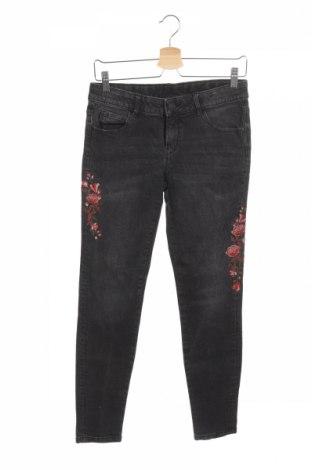 Dziecięce jeansy Here+There, Rozmiar 15-18y/ 170-176 cm, Kolor Szary, 99% bawełna, 1% elastyna, Cena 58,65zł