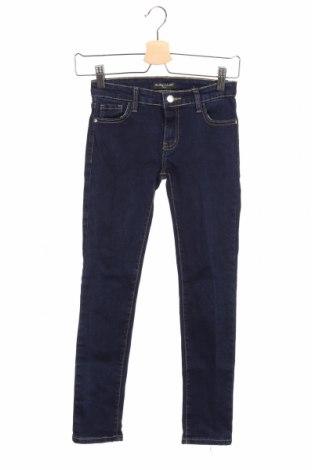 Dziecięce jeansy La Petite Parisienne, Rozmiar 8-9y/ 134-140 cm, Kolor Niebieski, 95% bawełna, 5% elastyna, Cena 110,00zł
