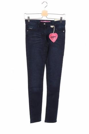 Dziecięce jeansy Million X, Rozmiar 12-13y/ 158-164 cm, Kolor Niebieski, 82% bawełna, 15% poliester, 3% elastyna, Cena 71,50zł