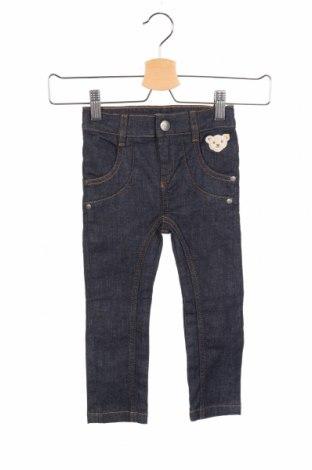 Dziecięce jeansy Steiff, Rozmiar 18-24m/ 86-98 cm, Kolor Niebieski, 95% bawełna, 5% elastyna, Cena 90,65zł