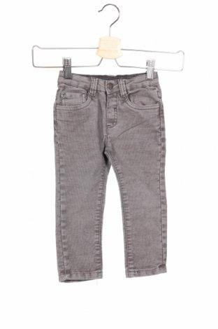 Pantaloni raiați de copii Kanz, Mărime 18-24m/ 86-98 cm, Culoare Gri, 75% bumbac, 23% poliester, 2% elastan, Preț 92,84 Lei