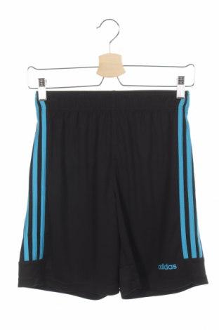 Pantaloni scurți de copii Adidas, Mărime 13-14y/ 164-168 cm, Culoare Negru, Poliester, Preț 79,58 Lei