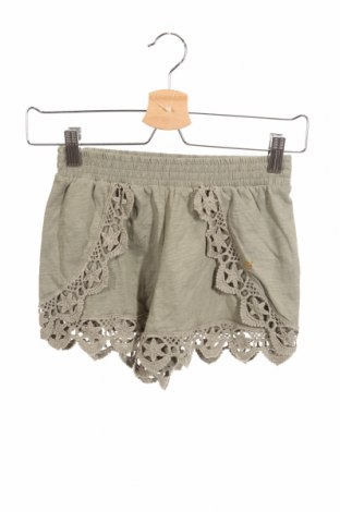 Pantaloni scurți de copii Guess, Mărime 10-11y/ 146-152 cm, Culoare Verde, Bumbac, Preț 86,84 Lei