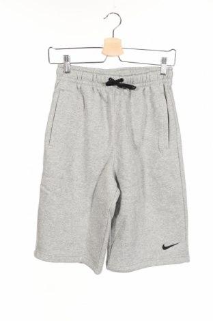 Dziecięce szorty Nike, Rozmiar 12-13y/ 158-164 cm, Kolor Szary, 80% bawełna, 20% poliester, Cena 90,65zł