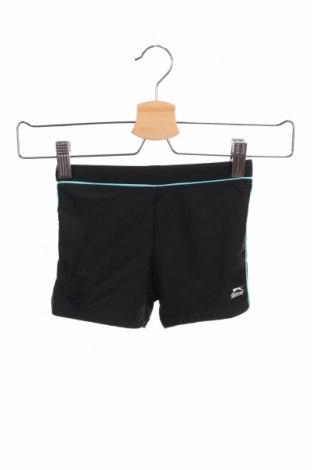 Pantaloni scurți de copii Slazenger, Mărime 4-5y/ 110-116 cm, Culoare Negru, Poliester, Preț 60,63 Lei