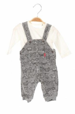 Detský komplet  Kanz, Veľkosť 1-2m/ 50-56 cm, Farba Sivá, Bavlna, polyester, elastan, Cena  13,89€