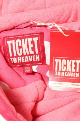 Детски космонавт Ticket to Heaven, Размер 18-24m/ 86-98 см, Цвят Розов, 100% полиестер, Цена 81,88лв.