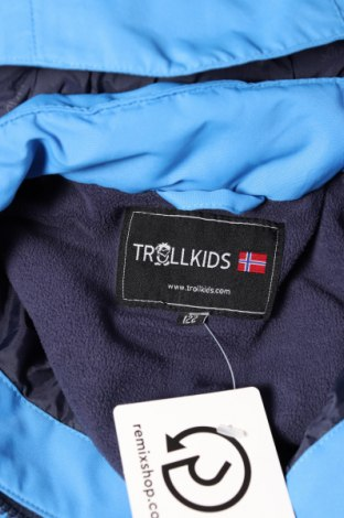 Детски космонавт Trollkids, Размер 6-7y/ 122-128 см, Цвят Син, Полиестер, Цена 88,00лв.