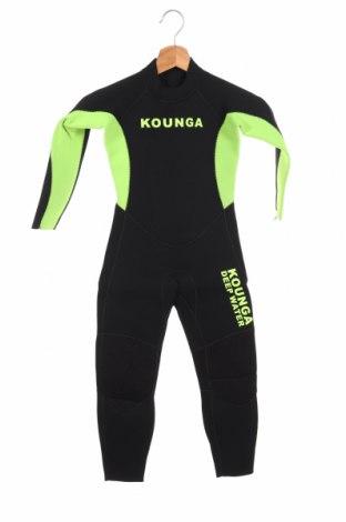 Costum pentru copii pentru sporturi nautice  ., Mărime 8-9y/ 134-140 cm, Culoare Negru, Poliamidă, poliester, Preț 168,63 Lei