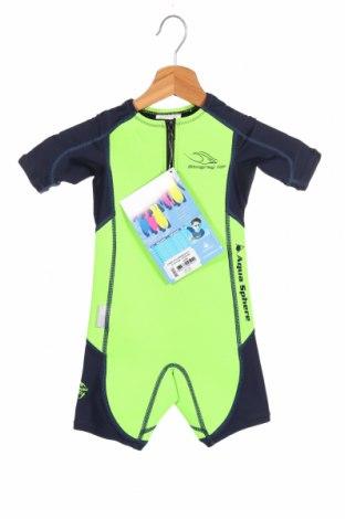 Costum pentru copii pentru sporturi nautice  . Aqua Sphere, Mărime 2-3y/ 98-104 cm, Culoare Verde, Poliamidă, Preț 195,05 Lei
