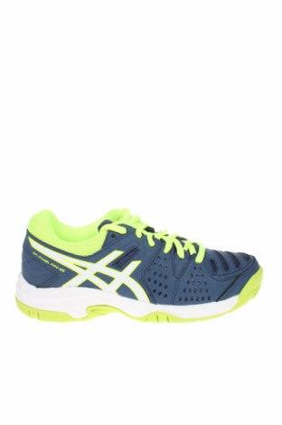 Detské topánky  ASICS, Veľkosť 32, Farba Modrá, Textil, Eko koža , Cena  41,71€