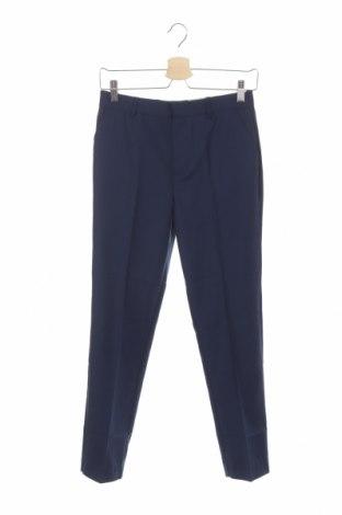 Pantaloni de copii River Island, Mărime 12-13y/ 158-164 cm, Culoare Albastru, 79% poliester, 21% viscoză, Preț 92,84 Lei