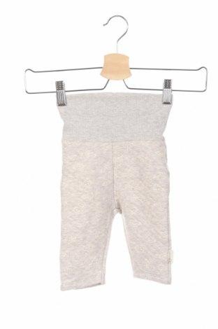 Pantaloni de copii Steiff, Mărime 2-3m/ 56-62 cm, Culoare Gri, 74% bumbac, 26% poliester, Preț 53,05 Lei