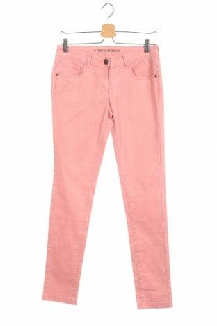 Детски панталон Tom Tailor, Размер 15-18y/ 170-176 см, Цвят Розов, 97% памук, 3% еластан, Цена 34,99лв.