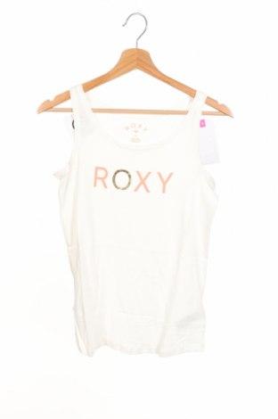Detské tielko  Roxy, Veľkosť 15-18y/ 170-176 cm, Farba Biela, Bavlna, Cena  13,17€