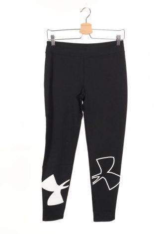 Damskie sportowe legginsy Under Armour, Rozmiar 12-13y/ 158-164 cm, Kolor Czarny, 58% bawełna, 32% poliester, 10% elastyna, Cena 79,55zł