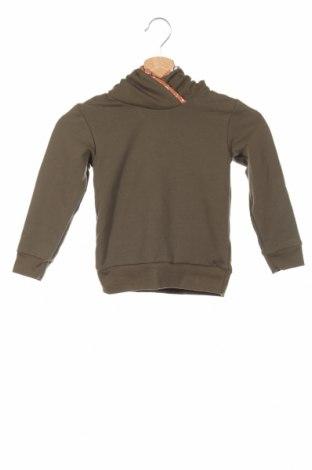 Детски суичър, Размер 3-4y/ 104-110 см, Цвят Зелен, 95% памук, 5% еластан, Цена 23,04лв.