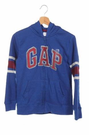 Detská mikina  Gap Kids, Veľkosť 10-11y/ 146-152 cm, Farba Modrá, 77% bavlna, 23% polyester, Cena  14,43€