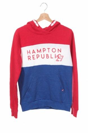 Детски суичър Hampton Republic, Размер 15-18y/ 170-176 см, Цвят Многоцветен, 80% памук, 20% полиестер, Цена 7,35лв.