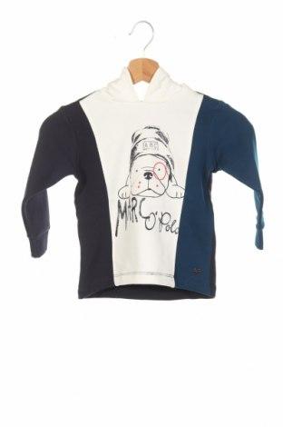Детски суичър Marc O'polo, Размер 18-24m/ 86-98 см, Цвят Син, 100% памук, Цена 44,64лв.
