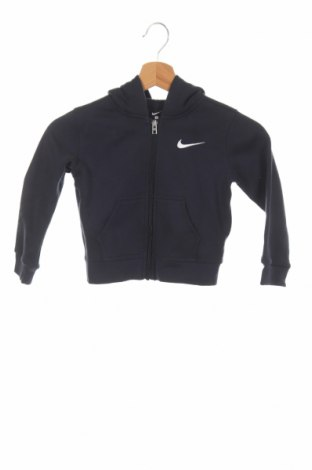 Детски суичър Nike, Размер 18-24m/ 86-98 см, Цвят Син, 60% памук, 40% полиестер, Цена 37,44лв.