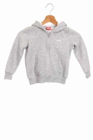 Детски суичър Slazenger, Размер 18-24m/ 86-98 см, Цвят Сив, 65% памук, 35% полиестер, Цена 27,36лв.