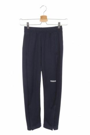 Detské tepláky Adidas, Veľkosť 9-10y/ 140-146 cm, Farba Modrá, Polyester, Cena  12,06€