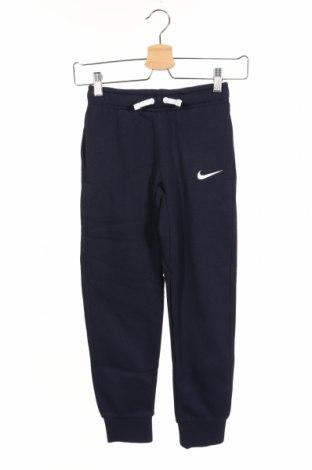 Dziecięce spodnie sportowe Nike, Rozmiar 7-8y/ 128-134 cm, Kolor Niebieski, 80% bawełna, 20% poliester, Cena 101,75zł