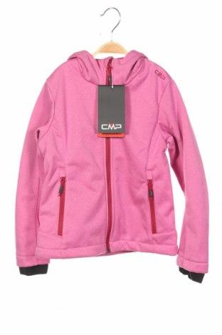 Παιδικό αθλητικό μπουφάν CMP, Μέγεθος 6-7y/ 122-128 εκ., Χρώμα Ρόζ , Πολυεστέρας, Τιμή 35,57€