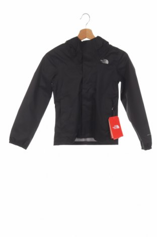 Детско спортно яке The North Face, Размер 7-8y/ 128-134 см, Цвят Черен, Полиестер, Цена 94,52лв.