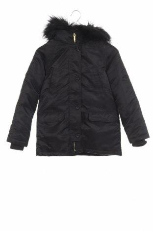 Детско яке H&M, Размер 10-11y/ 146-152 см, Цвят Черен, Полиестер, Цена 49,41лв.