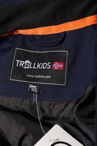 Детско яке за зимни спортове Trollkids, Размер 9-10y/ 140-146 см, Цвят Син, Полиестер, Цена 114,08лв.
