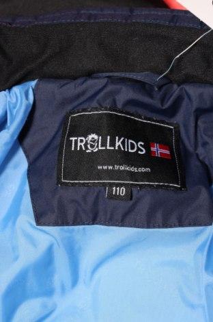 Детско яке Trollkids, Размер 3-4y/ 104-110 см, Цвят Син, Полиестер, Цена 69,60лв.