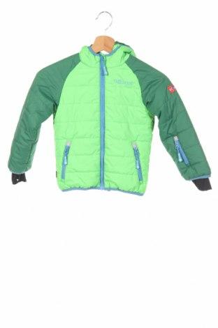 Детско яке за зимни спортове Trollkids, Размер 4-5y/ 110-116 см, Цвят Зелен, Полиестер, Цена 80,96лв.
