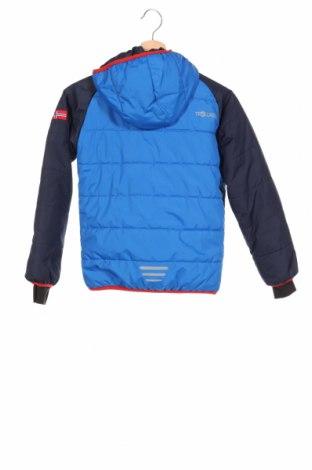 Детско яке за зимни спортове Trollkids, Размер 8-9y/ 134-140 см, Цвят Син, Полиестер, Цена 92,00лв.