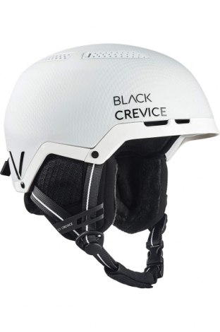 Каска за зимни спортове Black Crevice, Цвят Бял, Полиуретан, Цена 42,57лв.