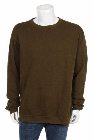 Мъжка блуза American Vintage, Размер XL, Цвят Зелен, Памук, Цена 62,00лв.