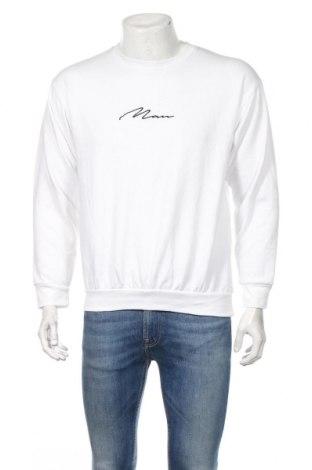 Pánske tričko  Boohoo, Veľkosť M, Farba Biela, 52% polyester, 48% bavlna, Cena  12,99€