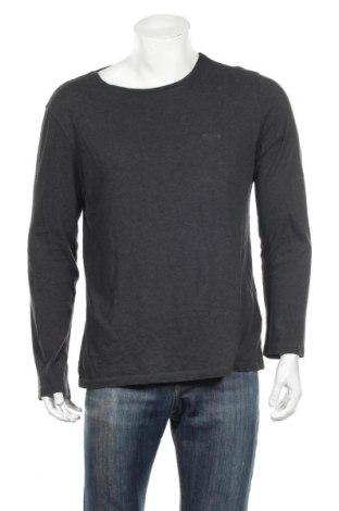 Bluză de bărbați Boss, Mărime XL, Culoare Gri, Bumbac, Preț 136,47 Lei