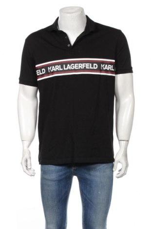 Мъжка блуза Karl Lagerfeld, Размер XL, Цвят Черен, Памук, Цена 104,30лв.