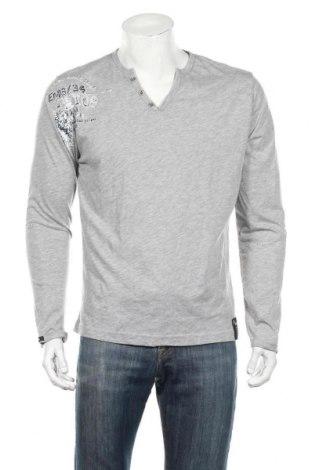 Pánske tričko  Key Largo, Veľkosť L, Farba Sivá, 67% bavlna, 33% polyester, Cena  9,07€
