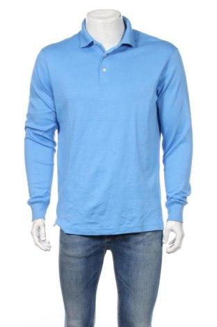 Pánske tričko  Land's End, Veľkosť M, Farba Modrá, Bavlna, Cena  8,51€